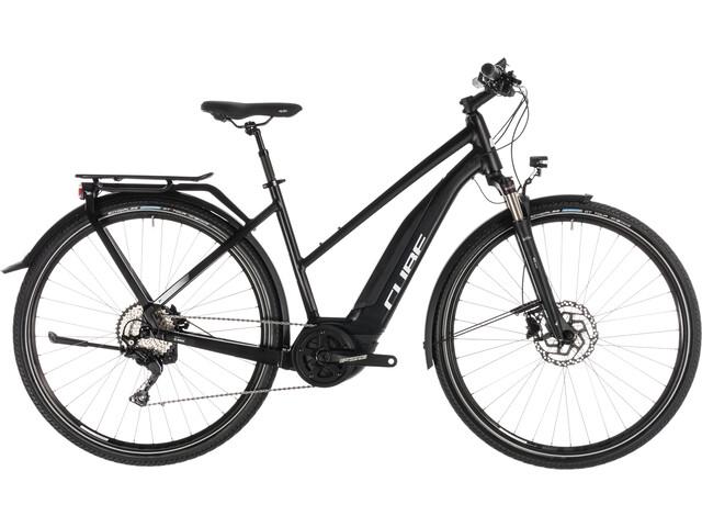 Cube Touring Hybrid Pro 500 E-trekkingcykel Trapez sort (2019) | City-cykler